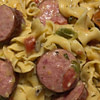 one pot smoked sausage and noodles recipe main photo