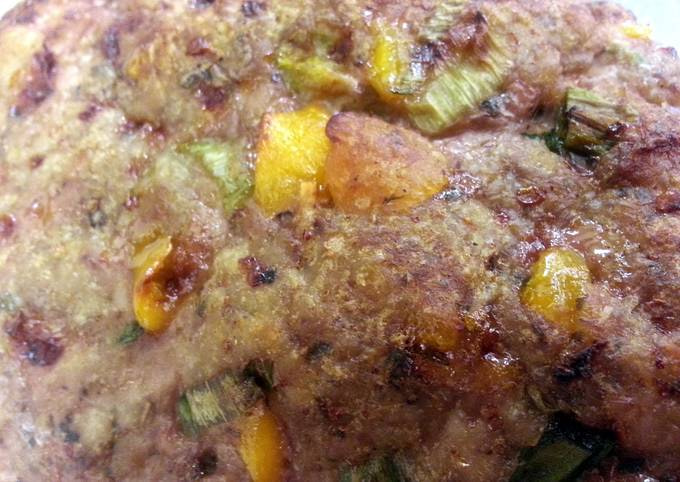 Indian Spiced Turkey Meatloaf