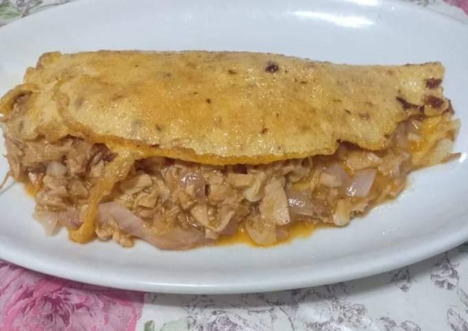 Chicken Sisig Omelette