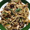 chicken mushrooms and udon recipe main photo