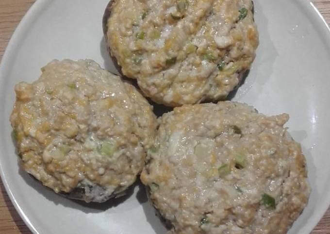Mushroom Stuffed w/ Minced Pork