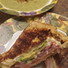 brads panini w cream of broccoli turnip green soup recipe main photo 2