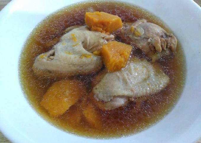 南瓜鸡汤 Pumpkin Chicken Soup