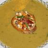 jons green split peas soup with feta cheese and bacon bruscheta recipe main photo