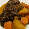 pot roast with balsamic and mustard recipe main photo