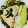 chicken in ginger broth with chayote and moringa filipino tinola with more veggies recipe main photo