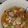 simple leftover turkey soup recipe main photo