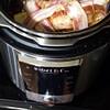 instant pot bacon wrapped turkey leg recipe main photo