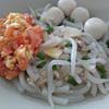 番茄蛋米苔目 short rice noodles bee tai bak w tomato scrambled egg recipe main photo