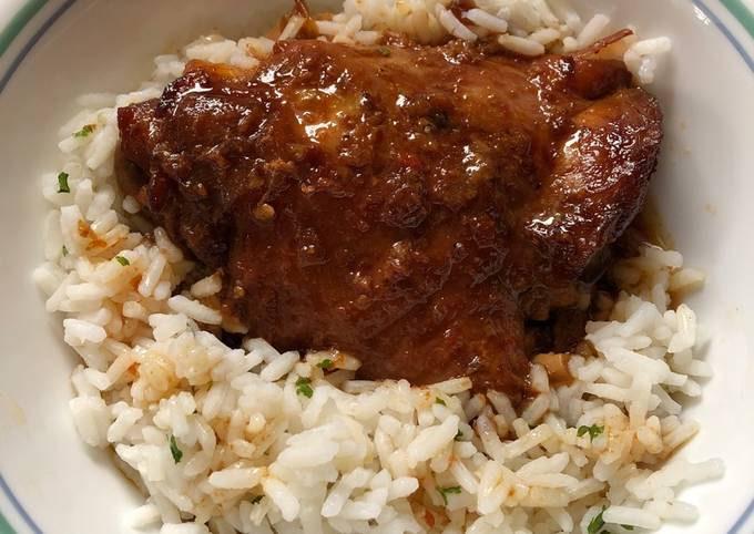 Crock Pot Spicy Honey Chicken