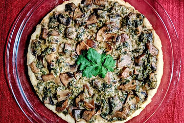 mushroom pie recipe main photo