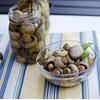 Marinade mushrooms