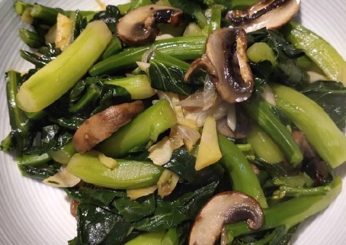 Kale Mushroom