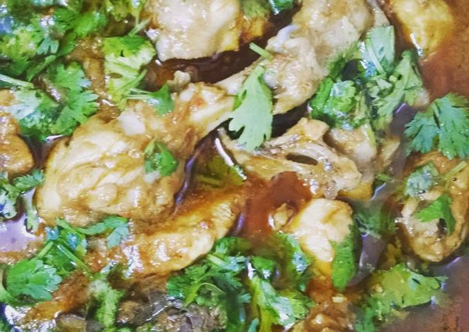 Indian curry chicken