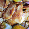 caramelized kabocha and smoked chicken in bbq sauce recipe main photo