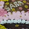 cake with meringue buttercream frosting fondant flowers recipe main photo