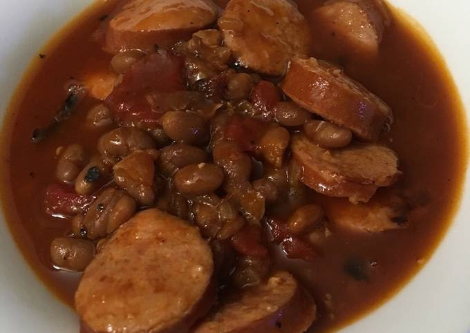 Instant pot beans and weenies