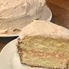 raspberry white chocolate cream cake recipe main photo