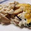 chicken spinach mushroom bake recipe main photo