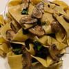 mushroom and blue cheese tagliatelle recipe main photo