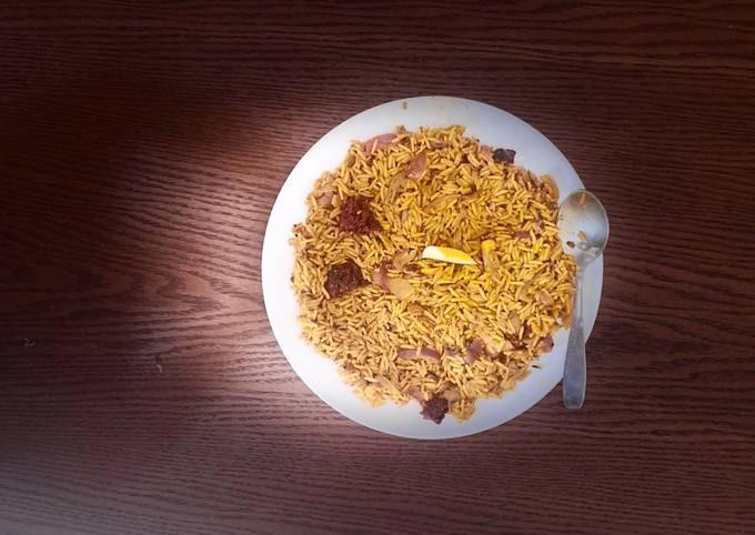 Hot Desi Garlic Fried Rice