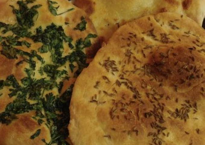 Indian Naan Bread: Add Toppings or Serve Plain