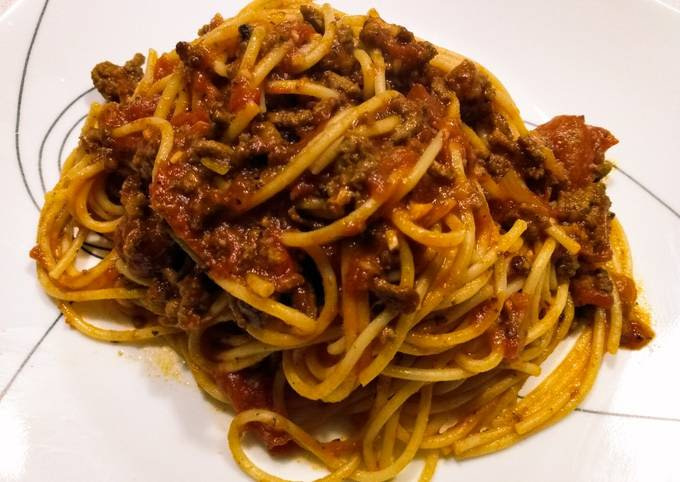 Kid-friendly spaghetti
