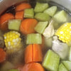 long corn soup for cold weather recipe main photo