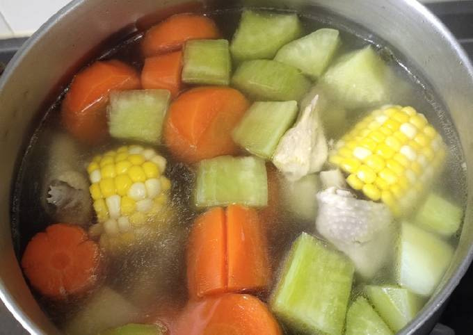 Long Corn Soup for Cold Weather