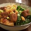 beef brisket noodle soup instant pot recipe main photo