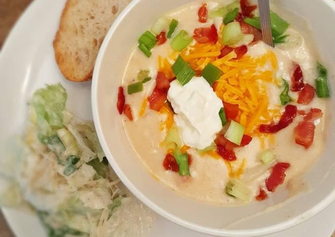 Ultimate loaded potato Soup