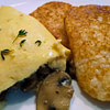 mushroom omelette recipe main photo