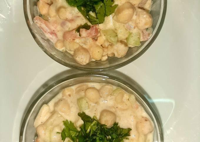 Chana chat(chickpea salad)😊 #cookpad #mycookbook