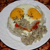 egg and onion mince recipe main photo