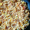 pulled pork fried rice recipe main photo