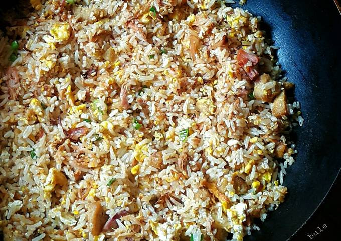 Pulled Pork Fried Rice