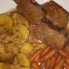 sunday pot roast recipe main photo