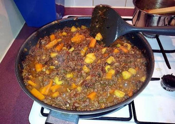 sweet mince curry