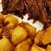 4 ingredient frozen instant pot roast and potatoes recipe main photo