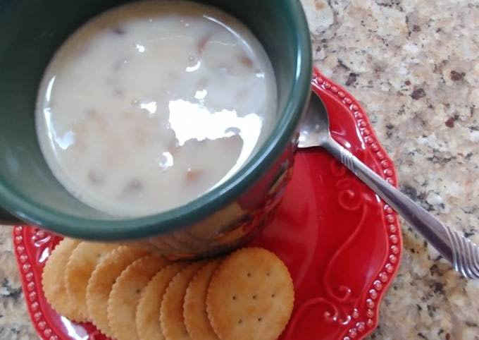Homemade Cream of Chicken & Mushroom Soup