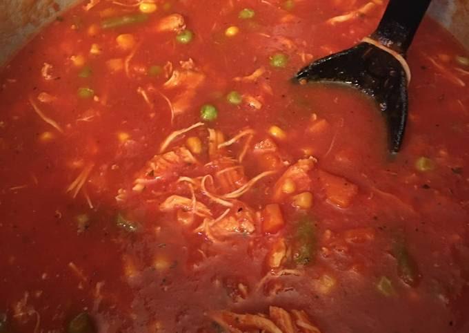 Ninja Foodie/Instant Pot Chicken Vegetable Soup