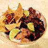cilantro chili lime smoked chicken thighs recipe main photo