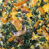 Keto Friendly Kale, Bell Pepper, Mushroom Quiche
