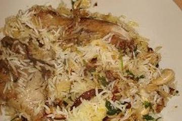 chicken biryani authentic indian rice dish recipe main photo