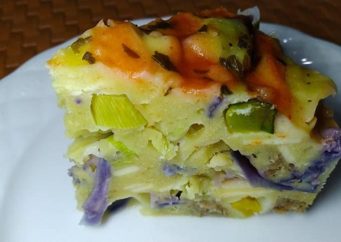 Steamed Cake Salé (Savory/Salty Cake)