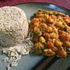 vegetarian spinach curry recipe main photo